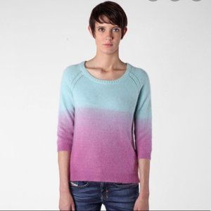 Diesel | NWT Angora Pink Blue Ombre Sweater Small
